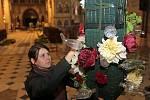 Květinová výzdoba olomouckých kostelů v rámci podzimní Flory 2016