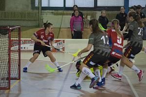 Florbal, Extraliga žen: Slavia Plzeň - Olomouc