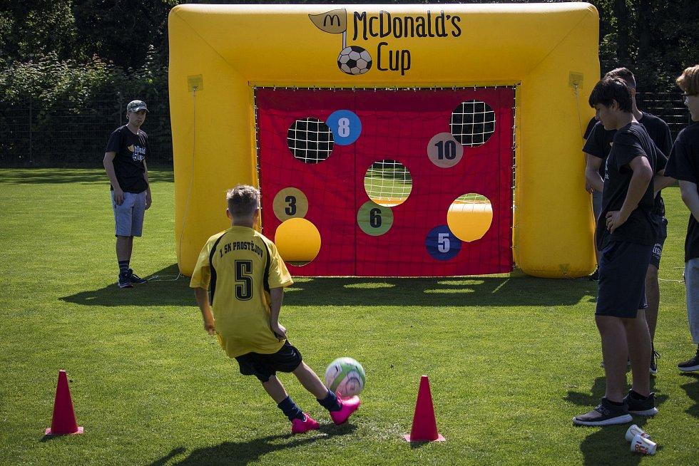 Krajské finále žákovského turnaje McDonald's Cup