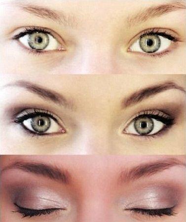 DOKONALÉ. Oči, které mají neutrální tvar. Ty snesou jakýkoliv typ líčení.