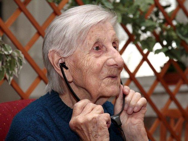 Marta Musilová oslavila v Olomouci 103. narozeniny