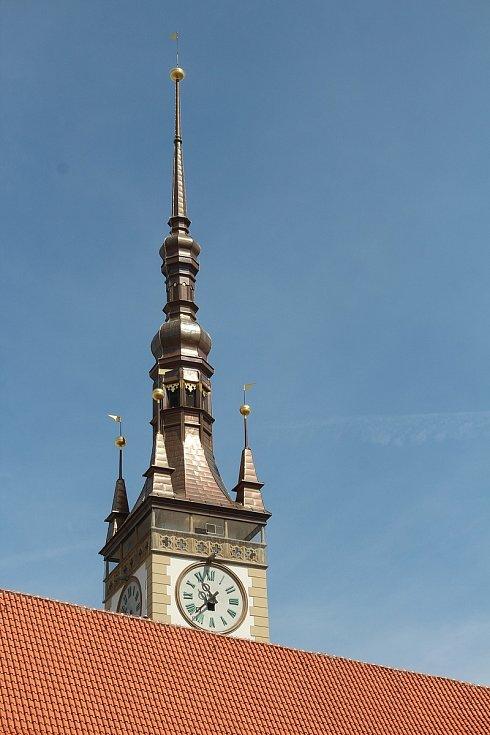 Vyhlídka z opravené radniční věže v Olomouci bude pro turisty přístupná od 19. června 2021