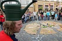 Časosběr a čajosběr na Horním náměstí