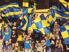 Fanoušci SFC Opava. Ilustrační foto