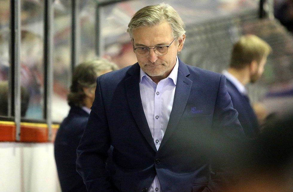 Trenér Olomouce Zdeněk Moták
