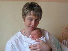Julie Vrtalová, Olomouc, narozena 3. března v Olomouci, míra 51 cm, váha 3330 g