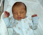 Viktor Pavlík, Olomouc, narozen 19. ledna ve Šternberku, míra 49 cm, váha 3250 g