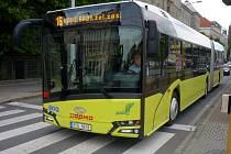 Autobus Solaris Urbino 18 IV. generace v testovacím provozu v Olomouci