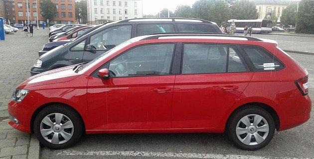 VOlomouci začala fungovat služba sdílení auta, takzvaný carsharing