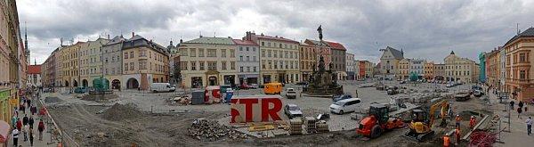 Rekonstrukce Dolního náměstí vOlomouci