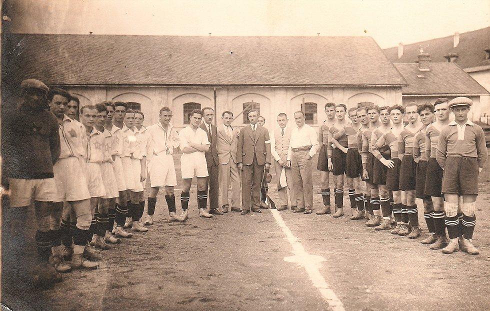 Litovel v Olomouci 28. července 1929