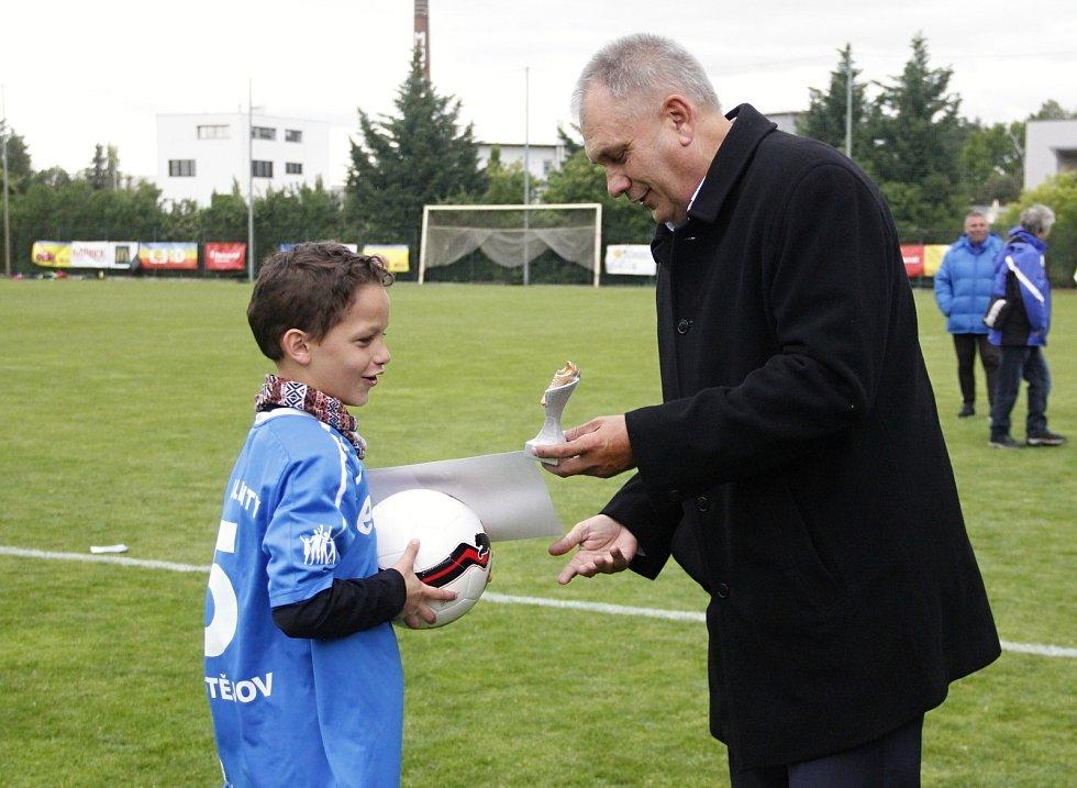 Nejlepší střelec turnaje mladších žáků Vladimir Mazal (Prostějov).