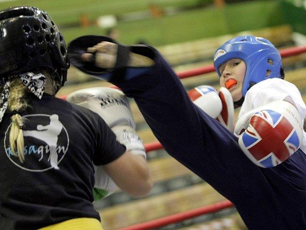 Šampionát kickboxerů v Olomouci odstartovaly souboje nejmladších