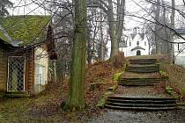 Park na Křížovém vrchu v Moravském Berouně