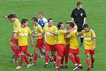 Radost fotbalistů Litovle