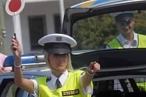 Soutěž dopravních policistů v Olomouci