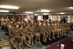 Vojáci 1. Strážní roty při setkání s prezidentem
