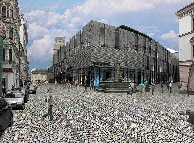 Vizualizace přestavby olomouckého Prioru. Zdroj: Ateliér R
