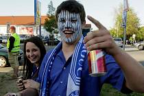 Fans Sigmy na finále Ondrášovka Cupu v Jihlavě