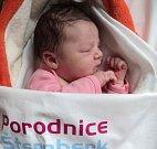 Victoria Trochtová, Olomouc, narozena 16. dubna, míra 52 cm, váha 3990 g
