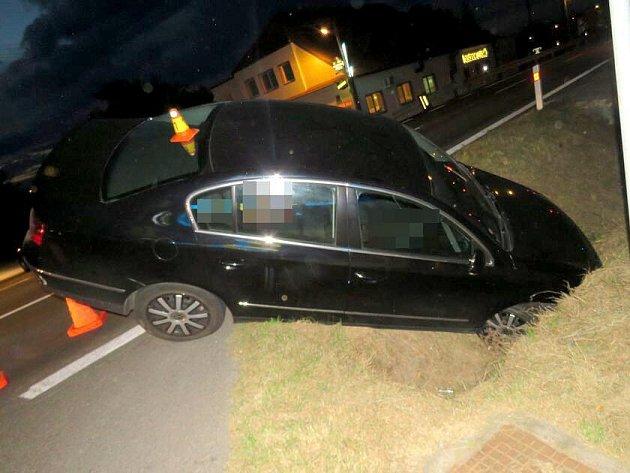 V pátek odpoledne havaroval v Dolanech na Olomoucku opilý cizinec