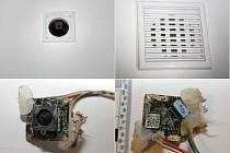 Kamery sledovaly studentky i v koupelně, byly dovedně ukryté