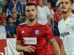 Jan Kotouč v andaluském pekle proti Seville FC