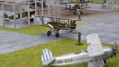 Členové spolku Aviatik-cs Olomouc připravili expozici historie letiště v Olomouci. Návštěvníci zhlédnou stručnou stoletou historii olomouckého letiště a uvidí i jeho model  z mobilizace roku 1938.