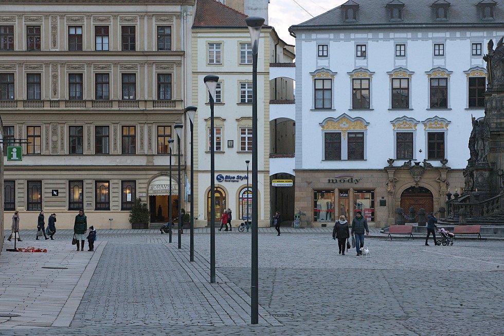 Lampy Philips UrbanStar na Horním náměstí v Olomouci