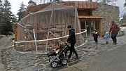 Nový africký pavilon v olomoucké zoo.