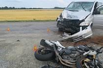 Dopravní nehoda u Nákla