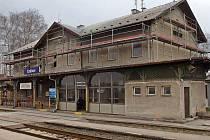 Rekonstrukce nádraží v Uničově
