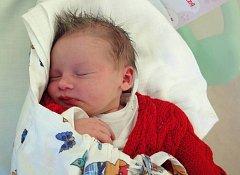 Tereza Čecháčková, Náměšť na Hané, narozena 26. února v Olomouci, míra 49 cm, váha 3170 g.