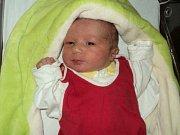 Hana Mudrychová, Medlov, narozena 1. listopadu ve Šternberku, míra 47 cm, váha 3120 g