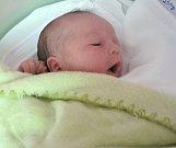 David Eder, Olomouc, narozen 20. dubna v Olomouci, míra 52 cm, váha 4023 g