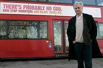 Biolog a popularizátor evoluční teorie Richard Dawkins