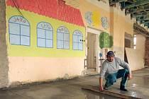 Rekonstrukce mateřské školy v Hněvotíně