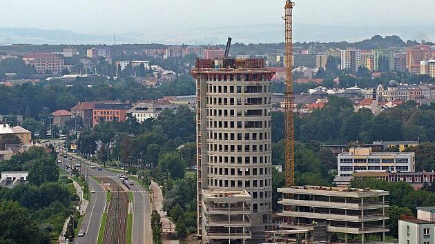 Stavba inovačního centra a kampusu Moravské univerzity Olomouc