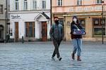 Olomouc v čase koronaviru. Horní náměstí