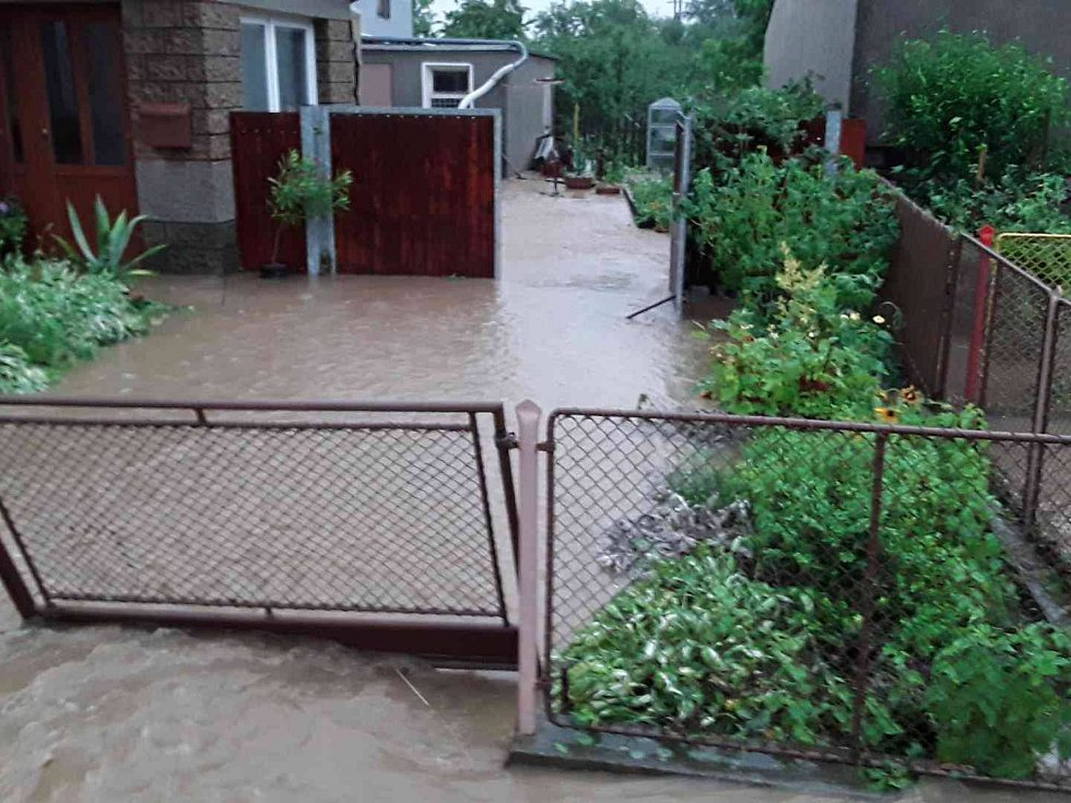 Následky silných bouřek na Olomoucku, 1. 7. 2019