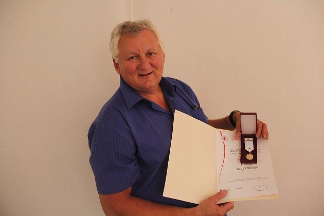 Dárce krve, elektrikář Pavel Šebek (54)