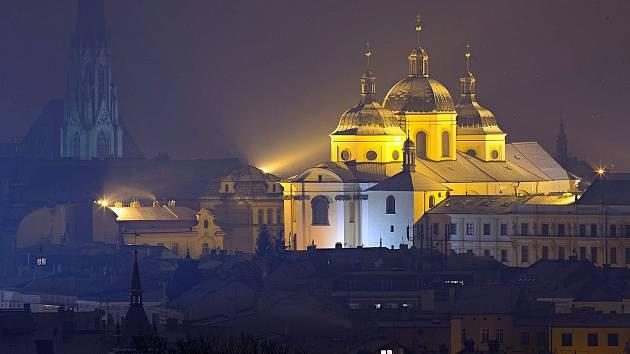 Chrám sv. Michala v Olomouci. Ilustrační foto