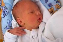 Jakub Houfek, Olomouc, narozen 12. července v Olomouci, míra 49 cm, váha 2820 g