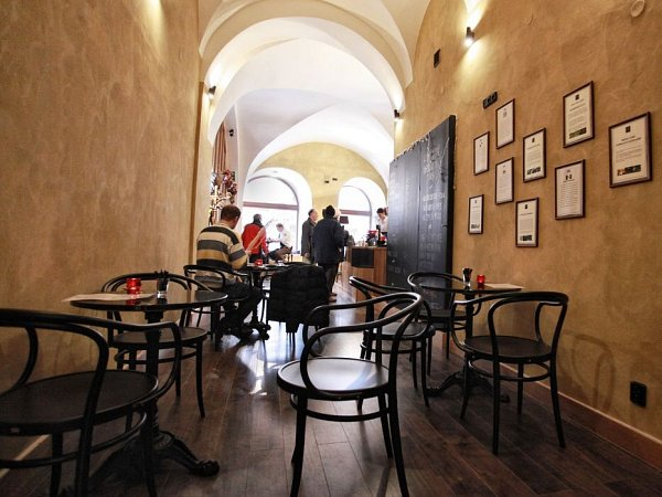 Kavárna Henri Café Olomouc