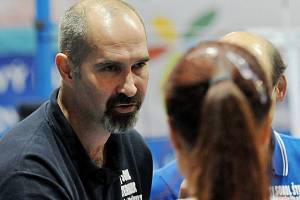 Volejbalový trenér Martin Hroch.