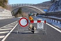 Červenohorské sedlo je neprůjezdné, řidiči musí po objížďkách.