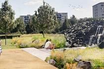 Vylepšení Parku Malého prince v Olomouci - varianta 1