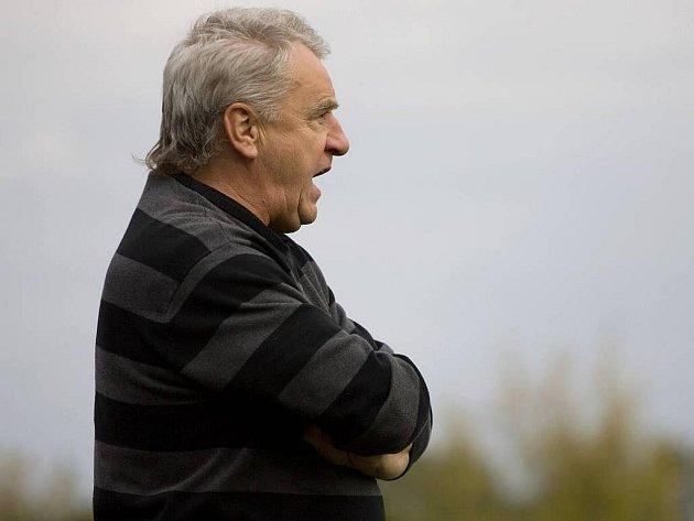Trenér HFK Petr Uličný
