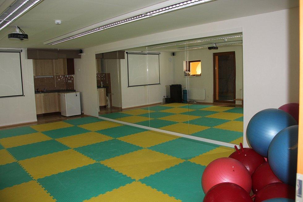Cvičební sál v Ústíně