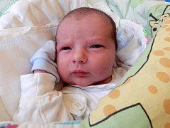 Lukáš Zdařil, Tršice, narozen 15. července v Krnově, míra 53 cm, váha 3920 g
